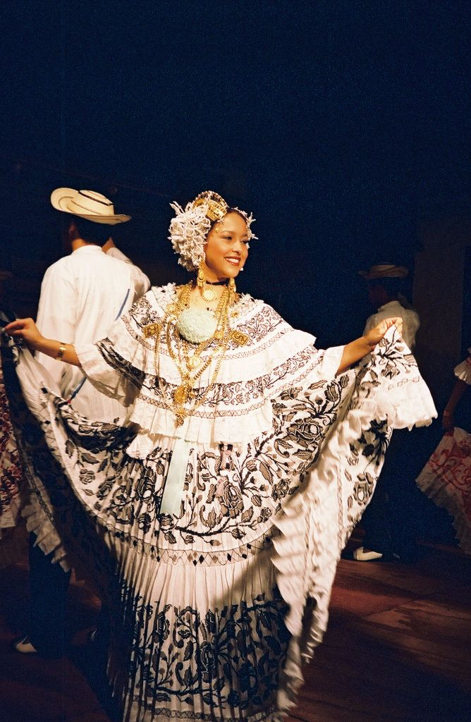 Panamanian dancer