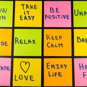 post it notes with sayings